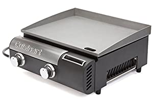 8. Cuisinart CGG-501 Gourmet Two Burner Gas Griddle