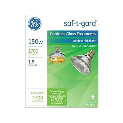 G E Lighting 48037 150-Watt Saf-T-Gard Outdoor Floodlight Bulb