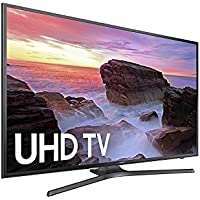 Samsung UN50MU630DFXZA 4k 50 LED TV, Black (Certified Refurbished)