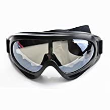 SUN Snow Googles Windproof UV400 Motorcycle Ski Goggles Eyewear Sports Protective Safety Glasses SCS14 Black