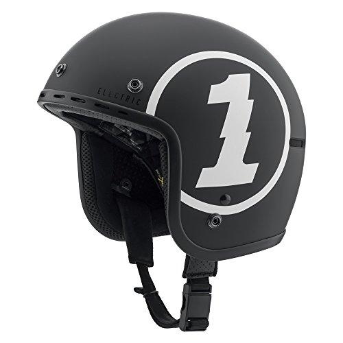 - Electric Visual Mashman Matte Black Logo Small Snow Helmet