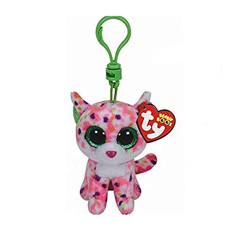 WATOP Stuffed Animals - Unicorn | boos Big Eyes Plush Dog Keychain Doll Unicorn Penguin Leopard owl Monkey Clip Toys 4