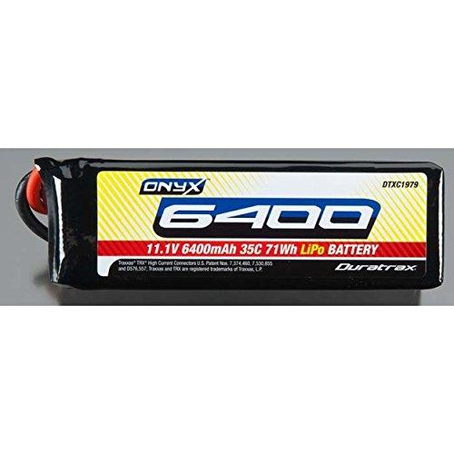 Duratrax LiPo Onyx 3S 11.1V 6400mAh 35C Soft Case Traxxas
