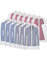 Kntiwiwo Garment Bags for Closet Storage Well-Sealed Suit Bags for Men Lightweight Garment Cover