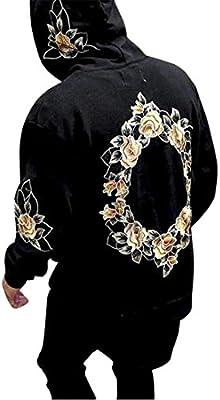 1056a3ddb0ea78 Herren Pullover Btruely Winter Männer Jacke Langarm Mantel Männer Sweatshirt  Outwear (M