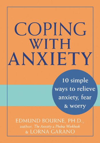 Coping Anxiety Edmund J Bourne product image