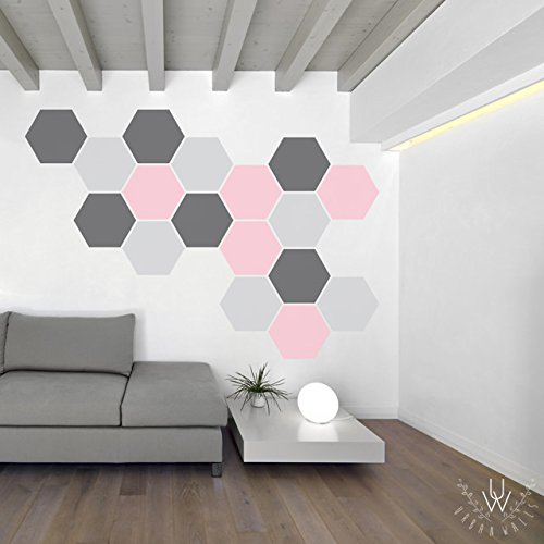 Etonnant Honeycomb Pattern  Wall Decal Home Décor By Urban Walls