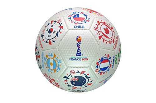 FIFA Women's World Cup France 2019 Official Licensed Soccer Ball 02-5 (Fifa Soccer Jerseys)