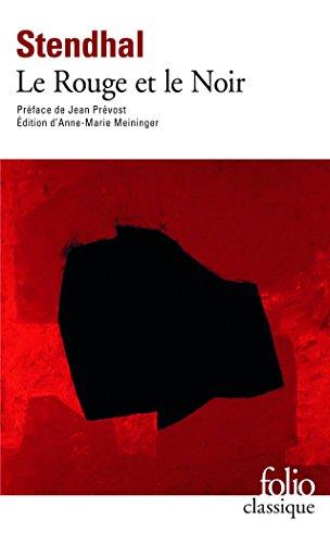 Stendhal: Le Rouge et le Noir (Folio Classique) (English and French (Classique Rouge)