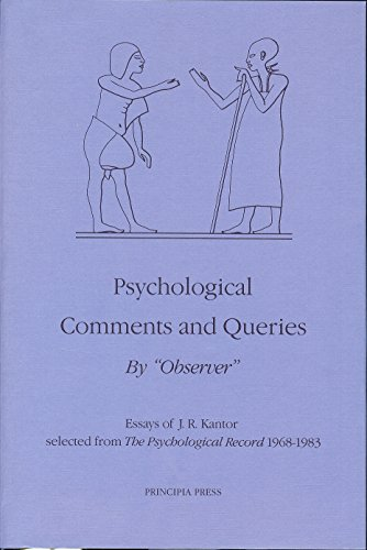 Psychological Comments and Queries