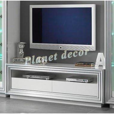 Mueble para televisor de Plasma, color blanco: Amazon.es: Hogar