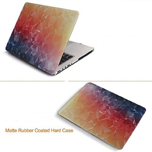 Schwerer Fall Shell für Macbook, Huispark Kunstbild bunte Malerei Ultra Slim Leichte Hard Case Snap-On harten Abdeckungs-Fall Hard Cover Case für MacBook Air 11 (Model A1465/ A1370) (Air11-03)