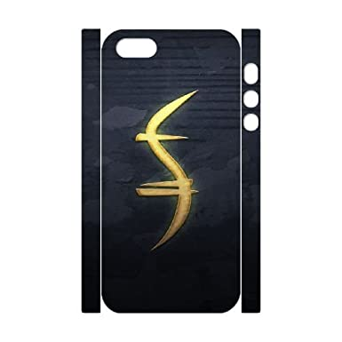 Iphone 5 5s Cell Phone Case 3d Heroes Godsend Symbol Gift