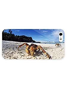 3d Full Wrap Case for iPhone 5/5s Animal Coconut Crab20