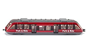 Siku Local train modelo de ferrocarril y tren - modelos de ferrocarriles y trenes (Niño/niña, Gris, Rojo)
