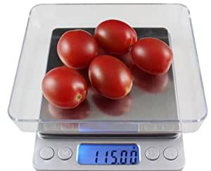 New Hostweigh 500g/0.01g LCD Backlit Digital Electronic Kitchen Scale Weight Balance