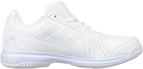 adidas Performance Damen Aspire Tennisschuh Weiß / Aero Blau / Weiß