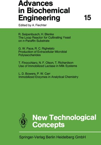 New Technological Concepts (Advances in Biochemical Engineering/Biotechnology)