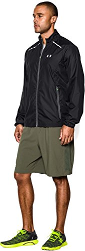 Under Armour Men's Storm Launch Run Jacket, Black (001)/Reflective, X-Large by Under Armour (Image #5)