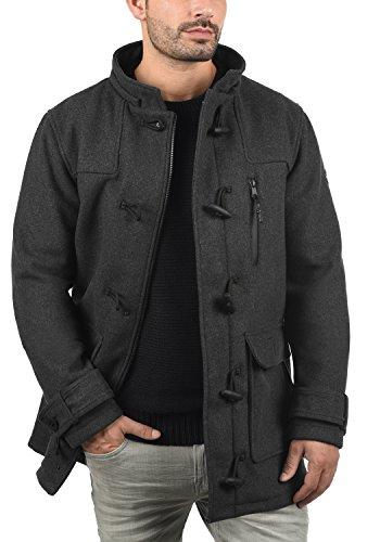 De Redefined Laine Pour coat Mozart Mid Melange Duffel D'hiver Rebel Manteau Homme Grey Veste Longue Droit Avec Col qwrtw