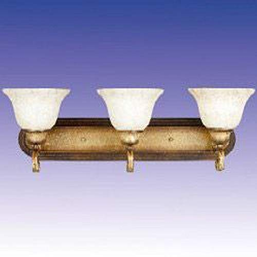 Maxim 85264FIKB, Cosmopolitan PL Fluorescent Bath Vanity, 3 Light, 13 Watts, Kentucky Bronze