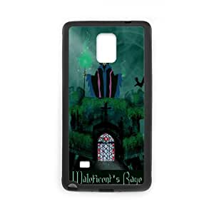 Samsung Galaxy Note 4 Cell Phone Case for Classic Theme Disney Maleficent Cartoon pattern design GDSNMLT16040