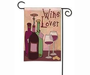 Amante del vino bandera de jard n jard n for Banderas decorativas para jardin