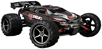 Traxxas 71074 E-Revo VXL Monster Truck, Scale 1/16 - Colors May Vary