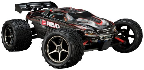 Traxxas 71074 E-Revo VXL Monster Truck, Scale 1/16 - Colors May Vary by Traxxas