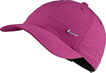 fb5ae3138fcf Image Unavailable. Image not available for. Colour  HEAD Nike Heritage 86  Metal Swoosh Cap pink kids ...