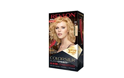 Revlon Colorsilk Buttercream Hair Dye, Extra Light Natural Blonde, 1 Count