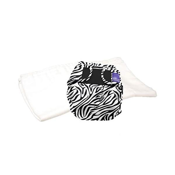 Bambino Mio, mioduo pannolino lavabile in due pezzi, tracce di savana, taglia 1 (<9 kg) 1