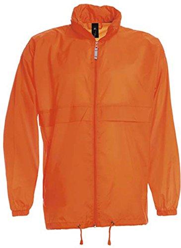 Arancione La B Da A Impermeabile Pieghevole amp;c Giacca Vento Uomo Sirocco 61w7v