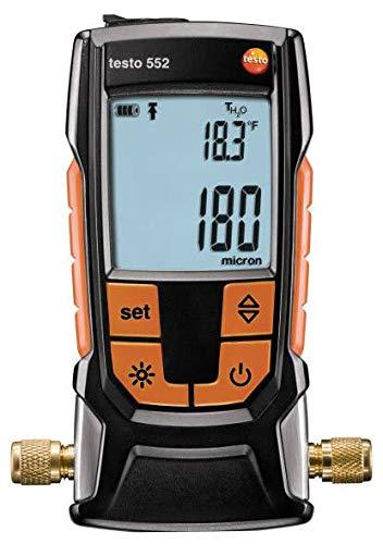 Testo 552 - Digital Vacuum/Micron Gauge with Bluetooth (Part Number 0560 5522 01)