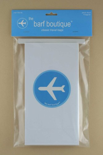 """Airplane"" Vomit/Barf Bags - Travel/Motion/Air Sickness Bags (5/pk)"