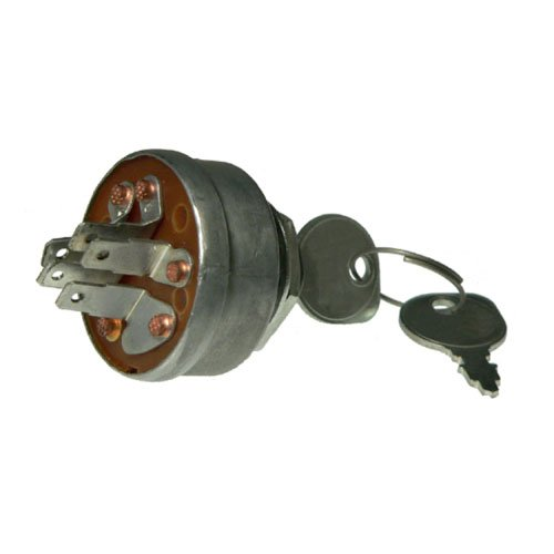 Ignition Key Switch Gravely 2-Wheel 35713-35716 4-Wheel 34686-34690 Tractors Scag Turf Tiger & Club ()