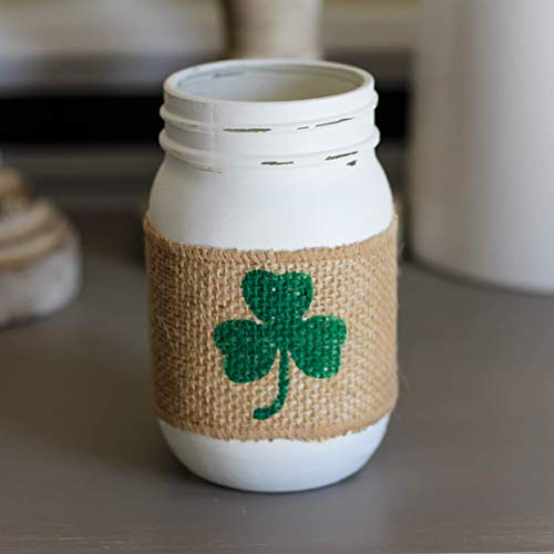 St.Patrick's Day Home Decoration Shamrock Clover Table -