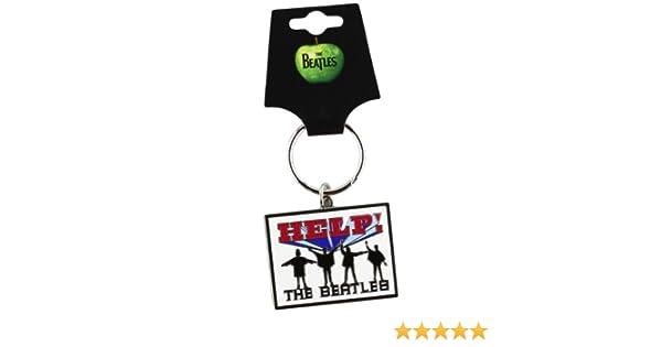 Beatles He! Metal Keyring