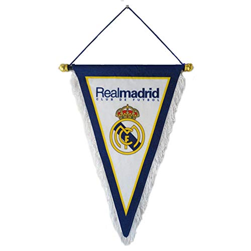 (ZQfans Real Madrid Indoor and Outdoor Flags Bar/Club/Bedroom Decoration Hanging Pennant)