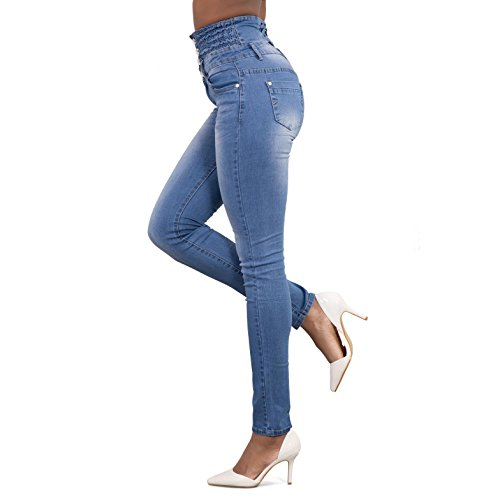 Taille Pantalon Denim Bleu C Jeans Haute Straight Pantalon Pantalons Crayon Denim Stretch Jeans Femme Sexy Juleya Casual Pantalon Skinny XAZ8q