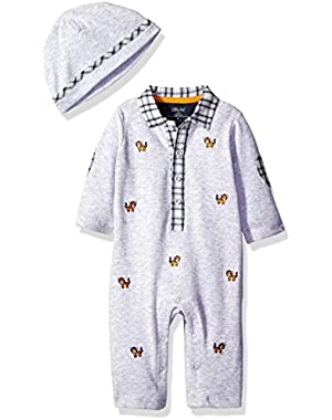 Baby Boys'' Tiny Tigers Coverall