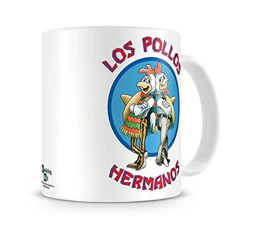 Breaking Bad Mug Los Pollos Hermanos Official White