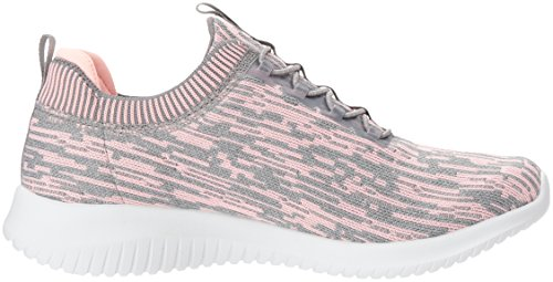 Women's Flex Skechers Femme Tennis Bright Gray Horizon Sport Ultra Coral 5qwUBg