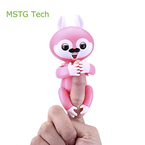 Price comparison product image MSTG Tech Interactive Baby Finger Squirrel Electronic Toy for Children (Red)
