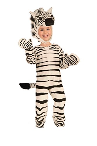Forum Novelties Plush Zebra Child Costume,