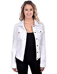 Amazon.com: Whites - Denim Jackets / Coats, Jackets & Vests ...