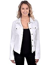 RedX Women's Long Sleeve Button-Up Denim Jacket