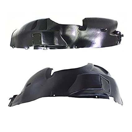 For BMW E36 Pair Set of Front Left /& Right Fender Liners Splash Guard Panel OES