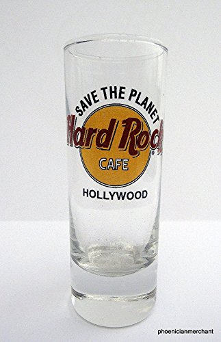 Hard Rock Cafe Hollywood at Universal Citywalk Save The Planet Shot Glass