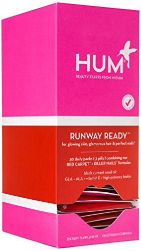 HUM Nutrition - Runway Ready - Skin & Nail Support Kit, 30 Packets by HUM